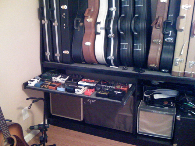 How Do You Store 20 Guitars On A Shelf The Gear Page